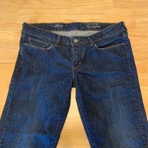 Levi's slight curve straight leg jeans
